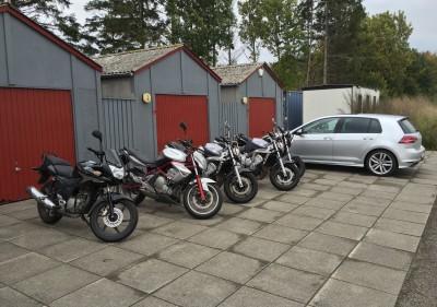 Alle vores motorcykler